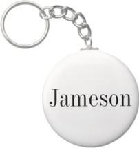 2.25 Inch Jameson Name Keychain (Style 1) - $2.75