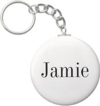 2.25 Inch Jamie Name Keychain (Style 1) - $2.75