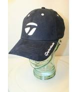 TaylordMade tmaxgear PGA Golf Strapback Navy Blue white logo Dad Cap Hat... - $19.95