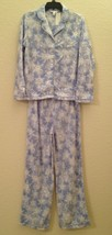 Charter Club Fleece Top and Pajama Pants Set 131025 Snowflakes Small or XL - $24.00