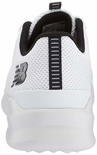Balance Men's District Run V1 CUSH + Sneaker, white, 9 Medium US image 2