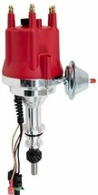 Pro Series R2R Distributor for Ford 144 170 200 250, 5/16 Hex Shaft Red Cap