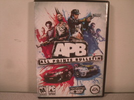 APB - All Points Bulletin EA PC DVD Game - $10.09