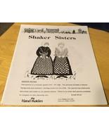 Shaker Sisters Doll Pattern - $8.59