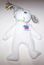 Ty Beanie Baby April Birthday Bear With Hat NEW - $8.90
