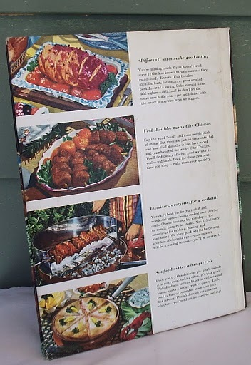 Meat Cook Book Better Homes and Gardens Hardcover Vintage Collector