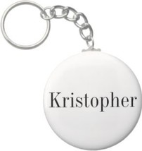 2.25 Inch Kristopher Name Keychain (Style 1) - $2.75