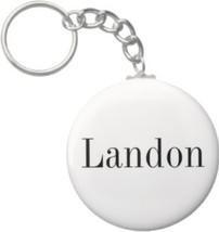 2.25 Inch Landon Name Keychain (Style 1) - $2.75