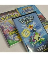 Pokemon 4-Ever, Hitachi Wish Maker and The First Movie VHS lot of 3 - $23.75