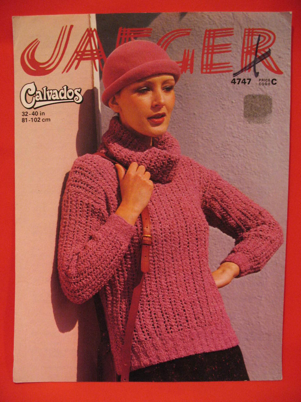 Jaeger knitting pattern 13 listings jaeger calvados pullover sweater knitting pattern ladies 299 bankloansurffo Images