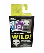 Nightmare before Christmas Card Game Something Wild! Game Cards Funko - $14.03