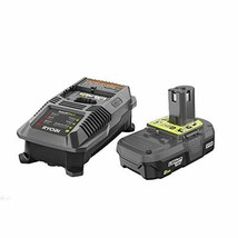 Ryobi P163 18V OnePlus Lithium 2.0Ah Compact Battery and Charger Upgrade... - $101.99