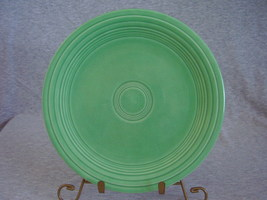Vintage Fiestaware Original Green Lunch Plate  P - $12.00