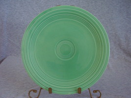 Vintage Fiestaware Original Green Lunch Plate  N - $13.60