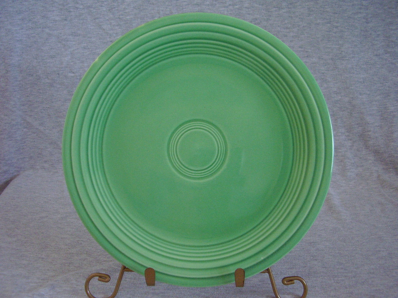 Vintage Fiestaware Original Green Lunch Plate  M