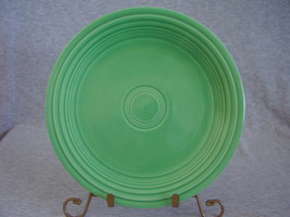 Vintage Fiestaware Original Green Lunch Plate  L - $14.40