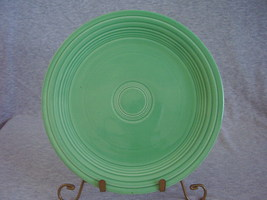 Vintage Fiestaware Original Green Lunch Plate  K - $12.80