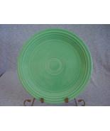 Vintage Fiestaware Original Green Lunch Plate  K - $12.80