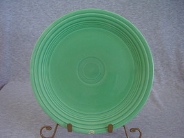 Vintage Fiestaware Original Green Lunch Plate  H - $10.00