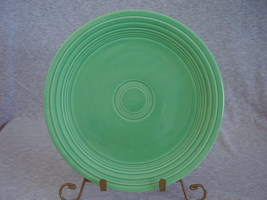 Vintage Fiestaware Original Green Lunch Plate  J - $12.80