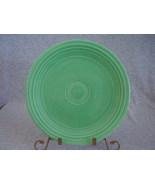 Vintage Fiestaware Original Green Lunch Plate  J - $12.80