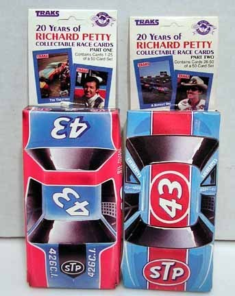 """20 Years of Richard Petty"" Collectible Race Cards -Part 1&2"