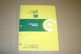 JD John Deere 787 Air Seeding system Operators Manual - $24.95