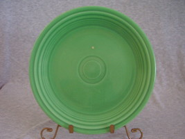 Vintage Fiestaware Original Green Lunch Plate  E - $11.20
