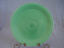 Vintage Fiestaware Original Green Lunch Plate  D - $14.40