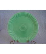 Vintage Fiestaware Original Green Lunch Plate  D - $14.40