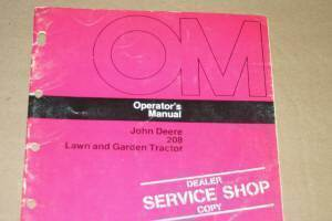 Primary image for JD John Deere 208 Lawn Garden Tractor  Operators Manual