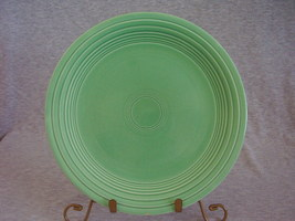 Vintage Fiestaware Original Green Lunch Plate  C - $12.00