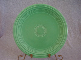 Vintage Fiestaware Original Green Lunch Plate  A - $12.00
