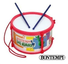 Bontempi Marching Drum Snare Kids Training Instrument Made Italy Age 3+ ... - $19.60