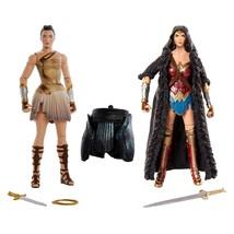 DC Comics Multiverse Wonder Woman Diana of Themyscira + Caped Figure 2-P... - $29.95