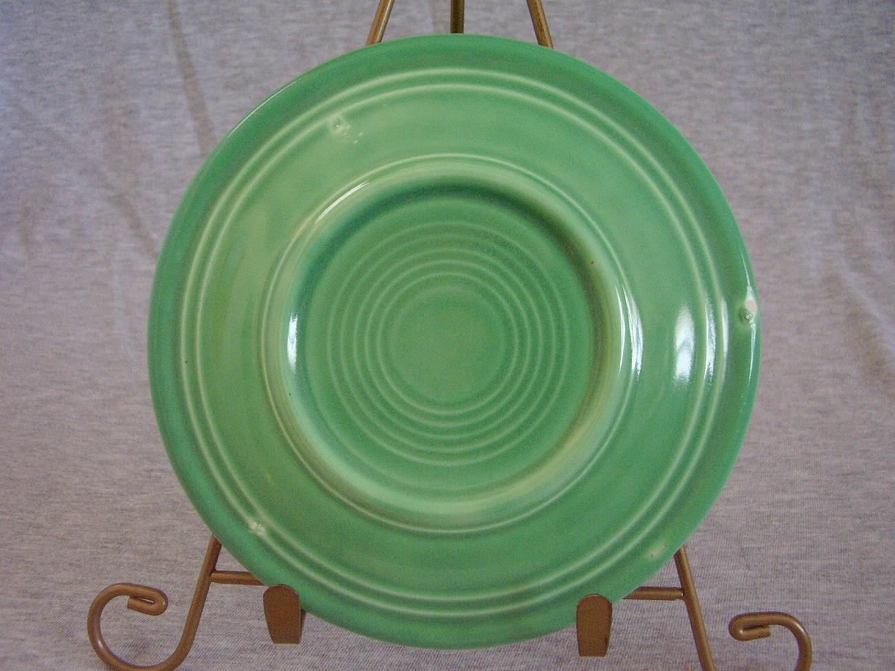 Vintage Fiestaware Original Green Bread Butter Plate  F