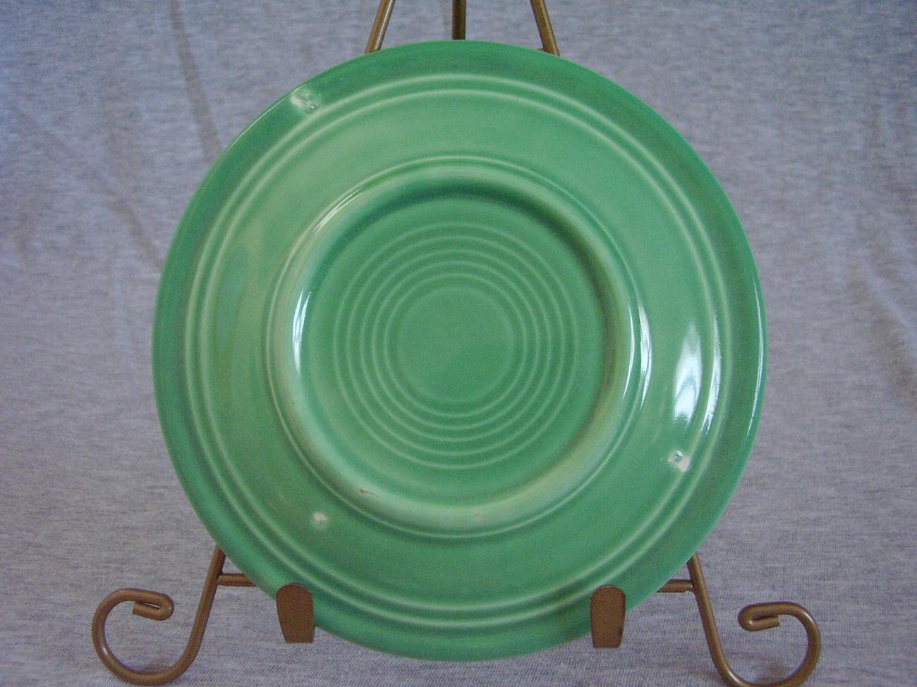 Vintage Fiestaware Original Green Bread Butter Plate  E