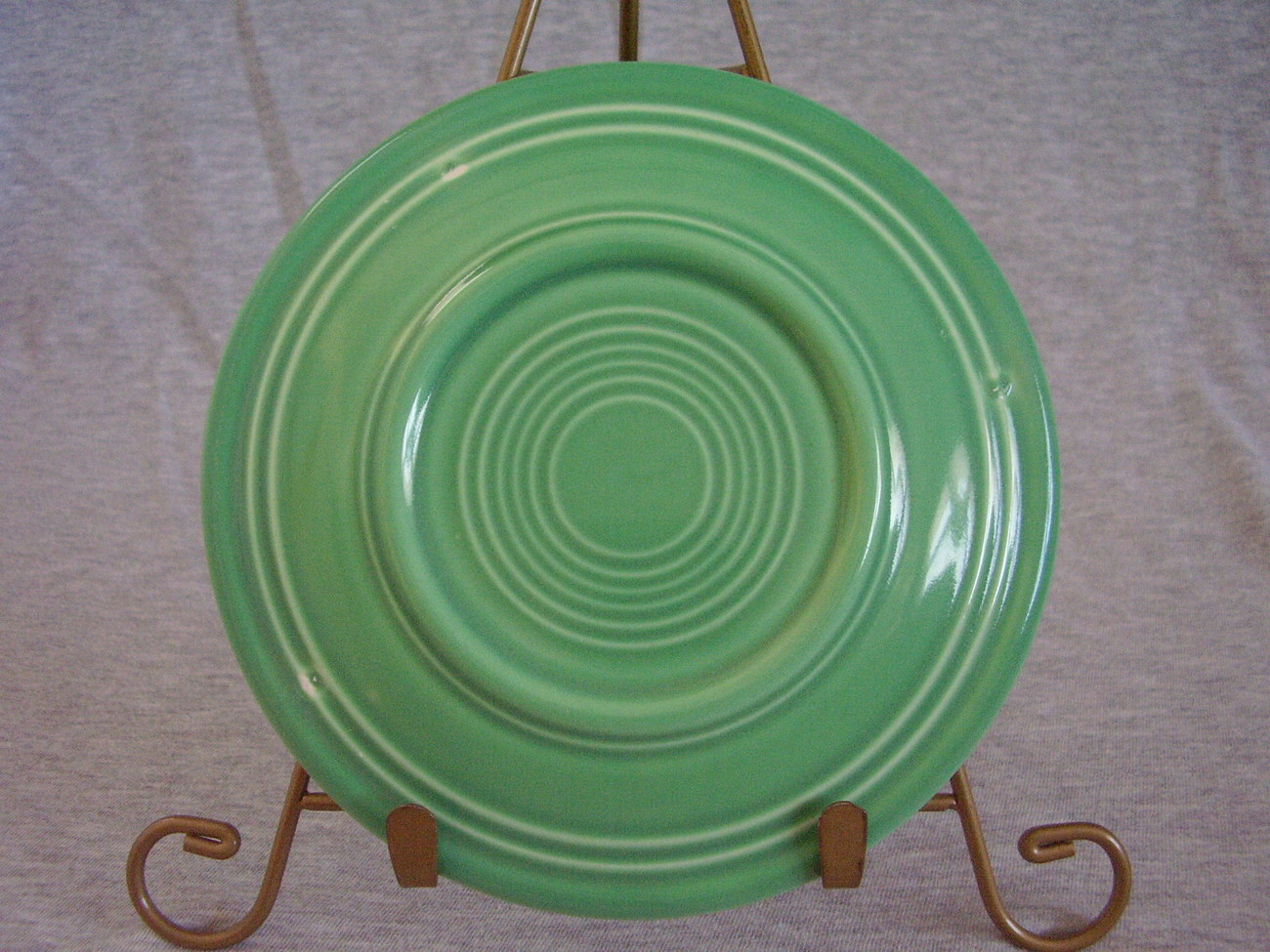 Vintage Fiestaware Original Green Bread Butter Plate  D