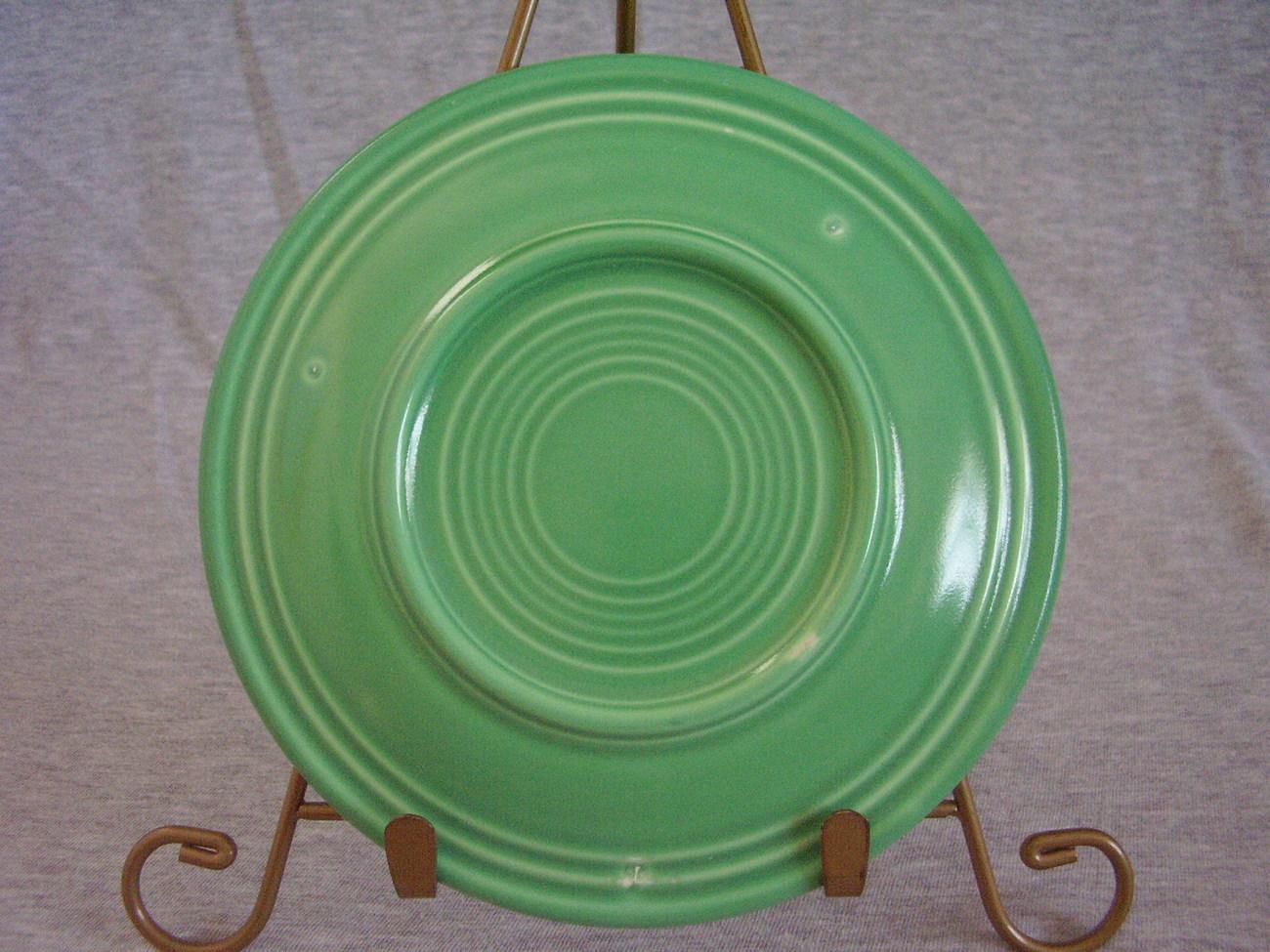 Vintage Fiestaware Original Green Bread Butter Plate B