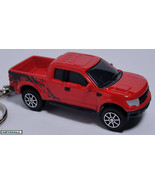 KEYCHAIN 2010~2011~2012 RED FORD F150 RAPTOR TRUCK PORTE CLE - $19.95
