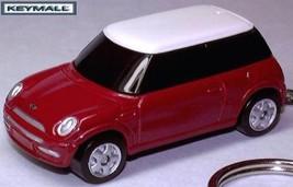 KEY CHAIN 05~09~2010/2011 CHILI RED NEW BMW MINI COOPER - $24.98