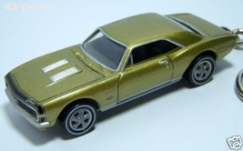 KEY CHAIN 1967~1968 GOLD & BLACK CHEVY CAMARO SS 67~68 - $34.95