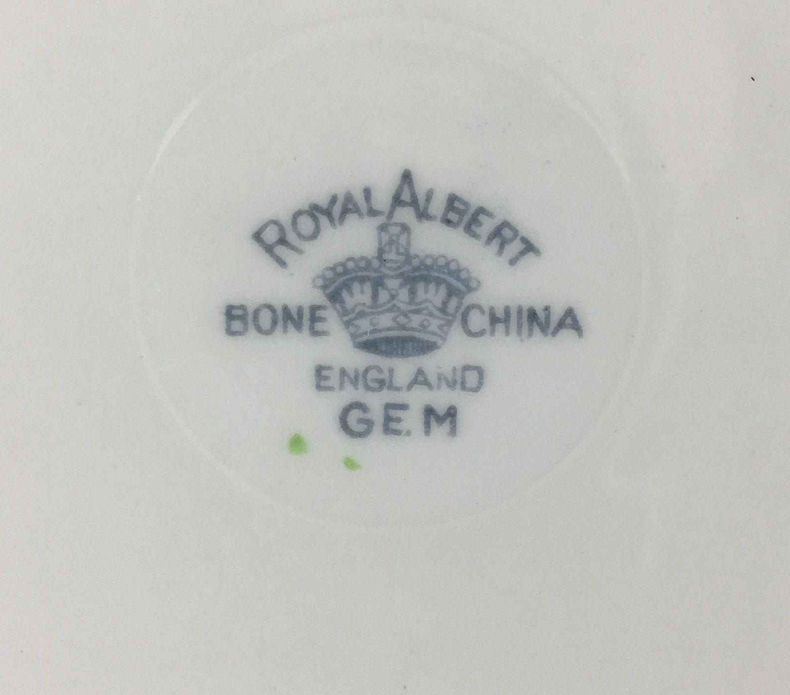 Royal Albert Gem Handled Cake Plate
