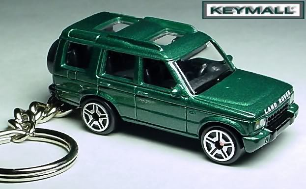 KEYRING UK GREEN LAND ROVER DISCOVERY HSE/SE KEY CHAIN