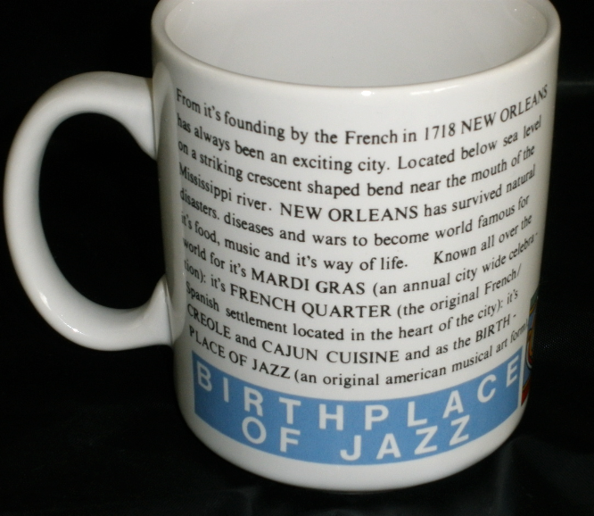 New Orleans French Quarter Mug - 8 ounces