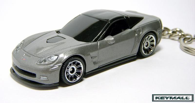 Porte Cle New Chevrolet Corvette C6 ZR1 Gray Gris Porte Cle