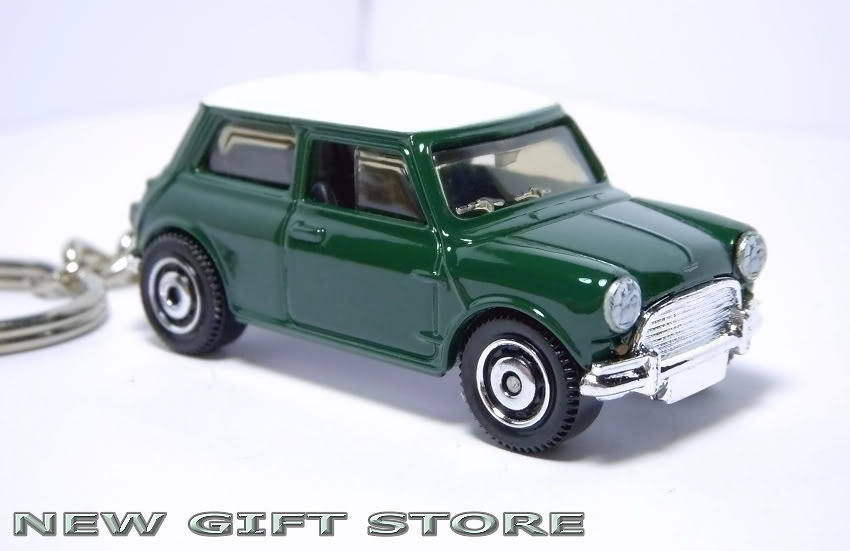 Porte Cle Mini Cooper Vert Austin Morris Leyland Key chain