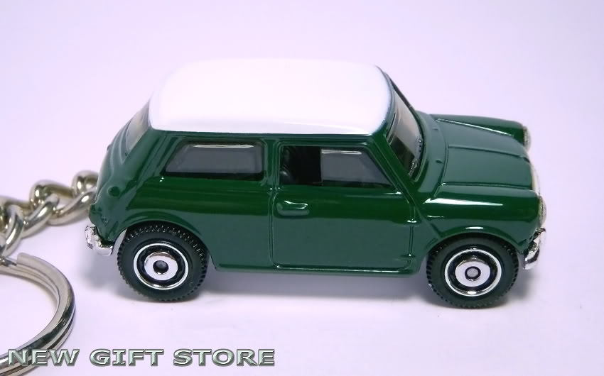 porte cle mini cooper vert austin morris leyland key chain keychains. Black Bedroom Furniture Sets. Home Design Ideas