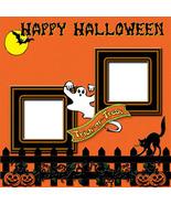 Halloween 2 ~ Digital Scrapbooking Quick Page L... - $3.00