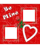 Valentine 2 ~ Digital Scrapbooking Quick Page Layout - $3.00